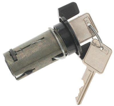 AC Delco Ignition Lock Cylinder D1401H direct fitwith black 1 year or 12000 mile ac delco limited warranty