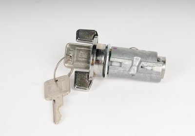 AC Delco Ignition Lock Cylinder D1403B direct fitwith chrome 1 year or 12000 mile ac delco limited warranty