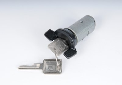 AC Delco Ignition Lock Cylinder D1404C direct fitwith black 1 year or 12000 mile ac delco limited warranty