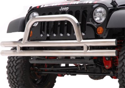 Aries Off Road Bumper 15500 2with polished lifetime aries limited warranty