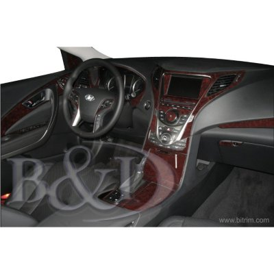B & I Dash Trim Fwd Aj, Direct Fit,with Lifetime B & I Limited Warranty