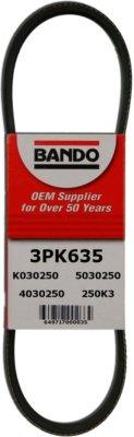 Image of Bando Drive Belt 3PK635, direct fit