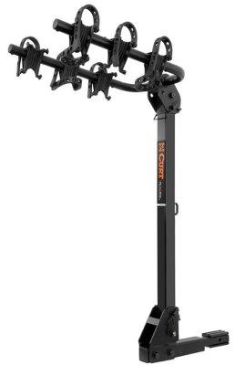 Curt Bike Rack 18033with powdercoated black lifetime curt limited warranty