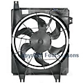 2000 Hyundai Elantra Cooling Fan Assembly 4-Seasons