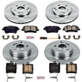 2005 Mercedes Benz CLK320 Brake Disc and Pad Kit Powerstop